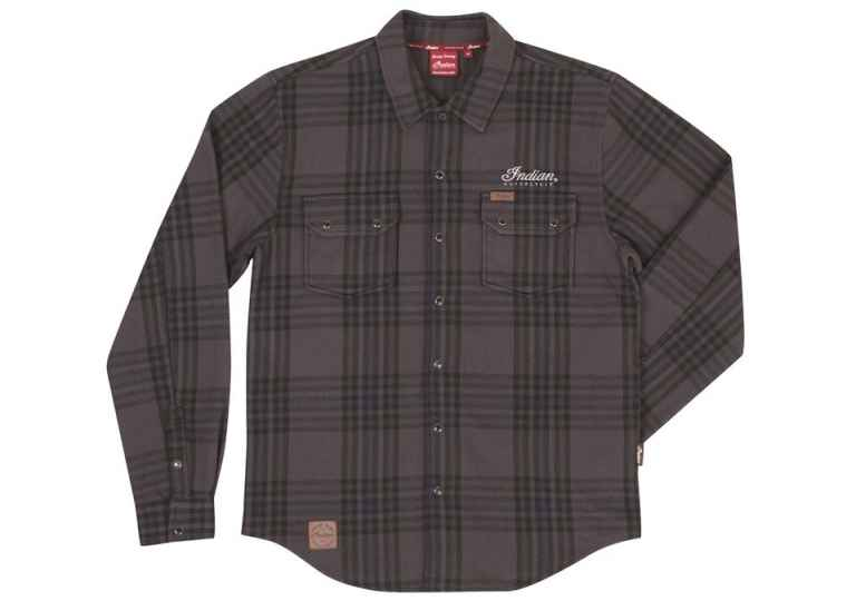 Indian Shirt Plaid Grey